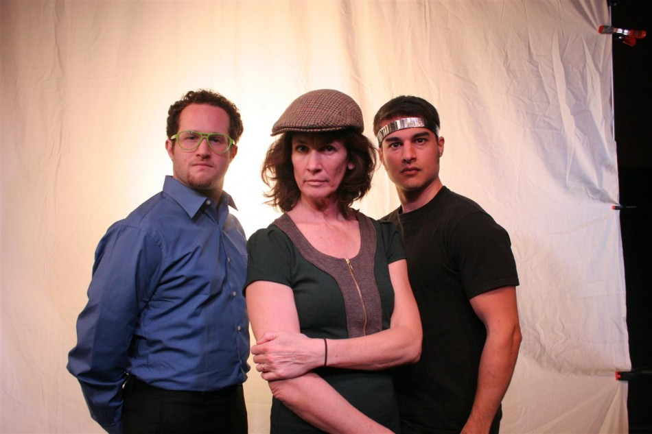 The Librarian, The Paper Girl, and the Disco Ninja